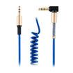 MF Product Acoustic 0208 Spiralli Aux Kablo Mavi resmi