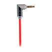 MF Product Acoustic 0209 Dönebilen Uçlu Aux Kablo Kırmızı resmi