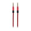 MF Product Acoustic 0211 Halat Tipi Aux Kablo Kırmızı resmi