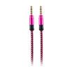 MF Product Acoustic 0211 Halat Tipi Aux Kablo Rose resmi