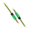 MF Product Acoustic 0211 Halat Tipi Aux Kablo Yeşil resmi
