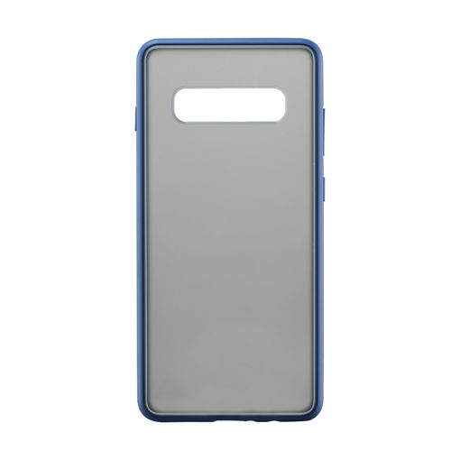 MF Product Jettpower 0327 Telefon Kılıfı Samsung Galaxy S10 Plus Koyu Mavi resmi