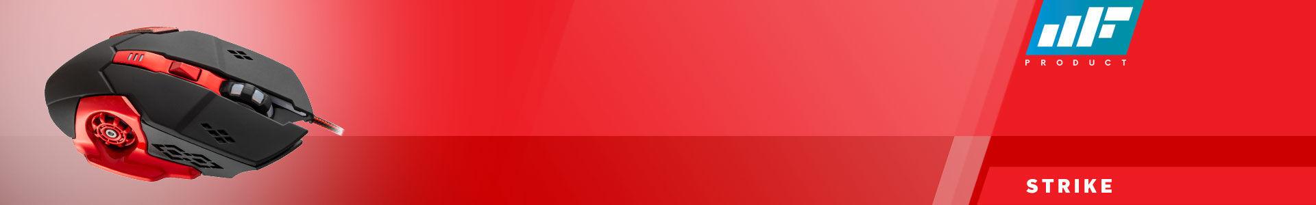 MF Product Strike 0110 Kablolu Rgb Gaming Mouse + Mouse Pad Kırmızı tam da buradan alınır!