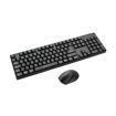 MF Product Shift 0083 Wireless Kablosuz Klavye Mouse Set Siyah resmi