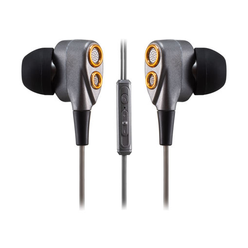 MF Product Acoustic 0152 Mikrofonlu Kablolu Kulak İçi Kulaklık Siyah-Gold resmi