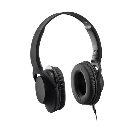 MF Product Acoustic 0105 Mikrofonlu Kablolu Kulak Üstü Kulaklık Siyah resmi