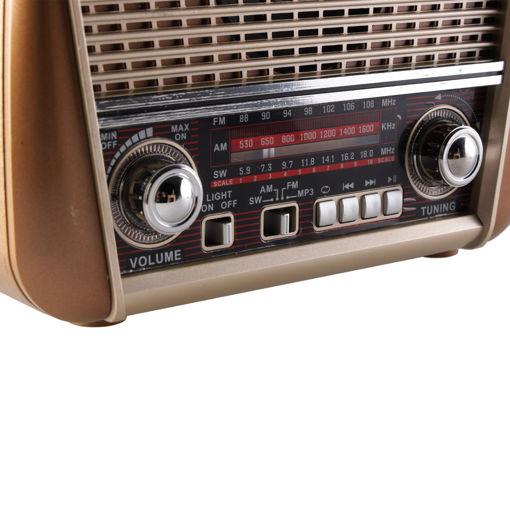 Radyo Destekli Kablosuz Hoparlör
