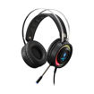 MF Product Strike 0162 Rgb Kablolu Kulak Üstü Oyuncu Kulaklığı 3.5 mm & Usb Siyah resmi
