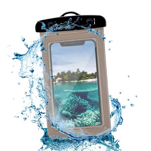 MF Product Jettpower 0246 Su Geçirmez Telefon Kılıfı Siyah resmi