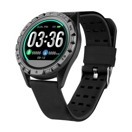 MF Product Wear 0258 Akıllı Saat Siyah resmi