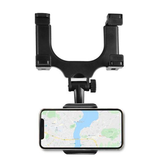 MF Product Jettpower 0181 Araç İçi Dikiz Aynası Telefon Tutucu Siyah resmi
