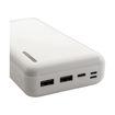 MF Product Jettpower 0067 30000 mAh 2.1A Hızlı Şarj Powerbank Beyaz resmi