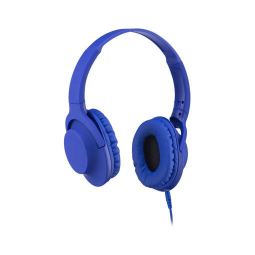 MF Product Acoustic 0105 Mikrofonlu Kablolu Kulak Üstü Kulaklık Mor resmi