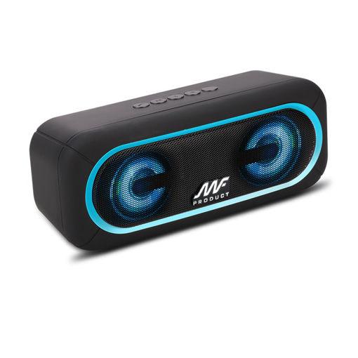 MF Product Acoustic 0124 Taşınabilir Kablosuz Bluetooth Hoparlör Mavi resmi