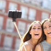 MF Product Fit N Joy 0506 Selfie Çubuğu Tripod Bluetooth Uzaktan Kumandalı Telefon Tutucu resmi