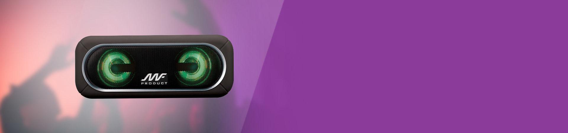 Speaker'ının mükemmel led ışıkları ile müziğini renklendir!