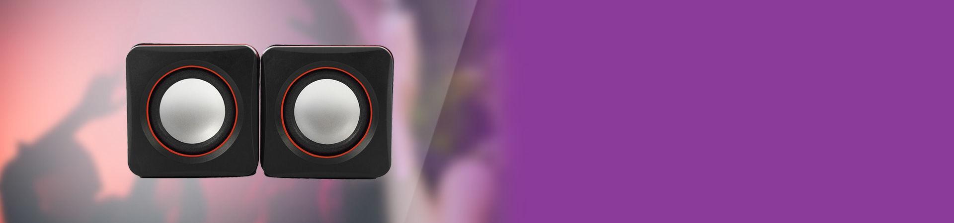 Kompakt tasarıma sahip 1+1 mini USB hoparlör ile yüksek ses, güçlü performans her yerde seninle!