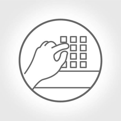 Touchpad Klavye