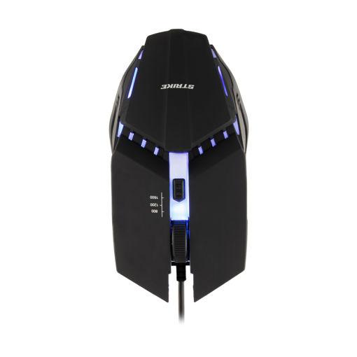 MF Product Strike 0193 Rgb Kablolu Gaming Mouse Siyah resmi