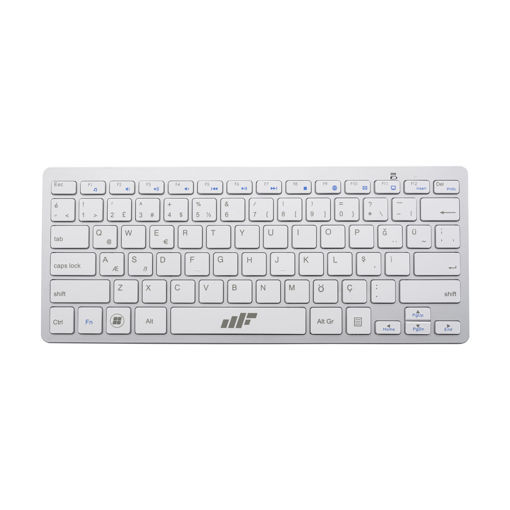 MF Product Shift 0263 Bluetooth Slim Klavye Beyaz resmi