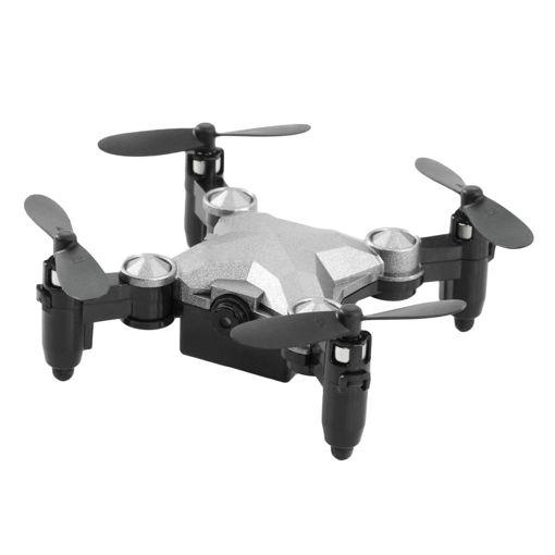 MF Product Atlas 0508 Smart Mini Bavul Drone 720p Gri resmi