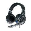 MF Product Strike 0539 Kablolu Kulak Üstü Kamuflajlı Oyuncu Kulaklığı Siyah resmi