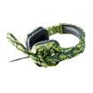 MF Product Strike 0541 Kablolu Kulak Üstü Kamuflajlı Oyuncu Kulaklığı Yeşil resmi