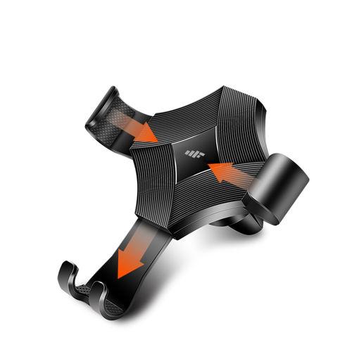 MF Product Jettpower 0554 Kıskaçlı Araç İçi Telefon Tutucu resmi