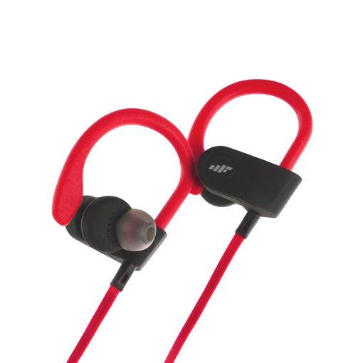 MF Product Acoustic 0534 Boyun Askılı Kablosuz Kulak İçi Bluetooth Kulaklık Kırmızı resmi