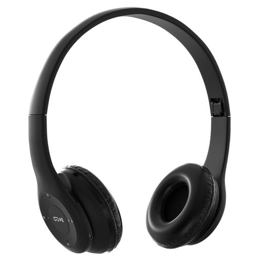 MF Product Acoustic 0131 Mikrofonlu Kulak Üstü Kablosuz Bluetooth Kulaklık Siyah resmi