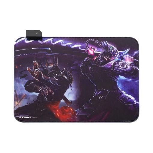 MF Product Strike 0296 Işıklı Gaming Mouse Pad resmi