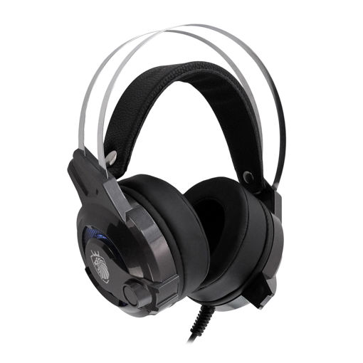 MF Product Strike 0647 Kablolu Kulak Üstü Oyuncu Kulaklığı 7.1 USB Gri resmi