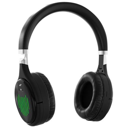 MF Product Acoustic 0462 Kulak Üstü Işıklı Kablosuz Bluetooth Kulaklık Siyah resmi