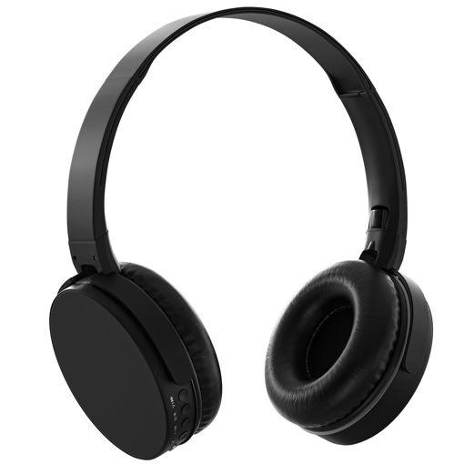 MF Product Acoustic 0235 Kablosuz Kulak Üstü Bluetooth Kulaklık Siyah resmi