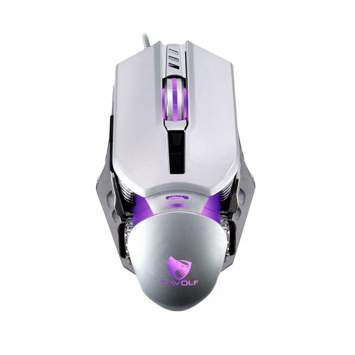 MF Product Strike 0574 Rgb Kablolu Gaming Mouse Gri resmi