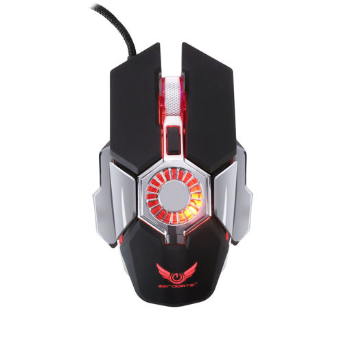 MF Product Strike 0593 RGB Kablolu Fanlı Gaming Mouse Siyah resmi