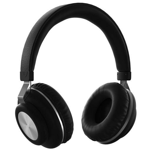 MF Product Acoustic 0125 Mikrofonlu Kulak Üstü Kablosuz Bluetooth Kulaklık Siyah resmi