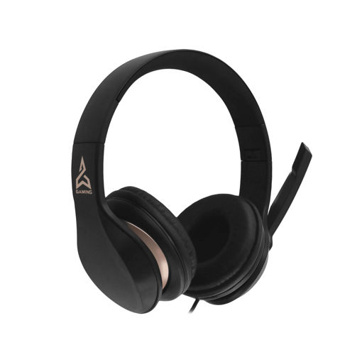 MF Product Strike 0640 Kablolu Kulak Üstü Oyuncu Kulaklığı Siyah resmi