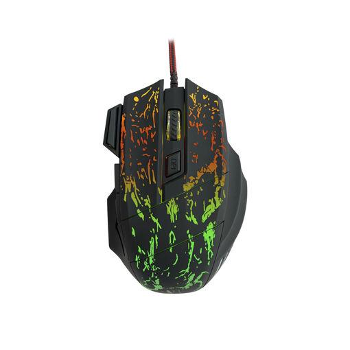 MF Product Strike 0591 Rgb Kablolu Gaming Mouse Siyah resmi
