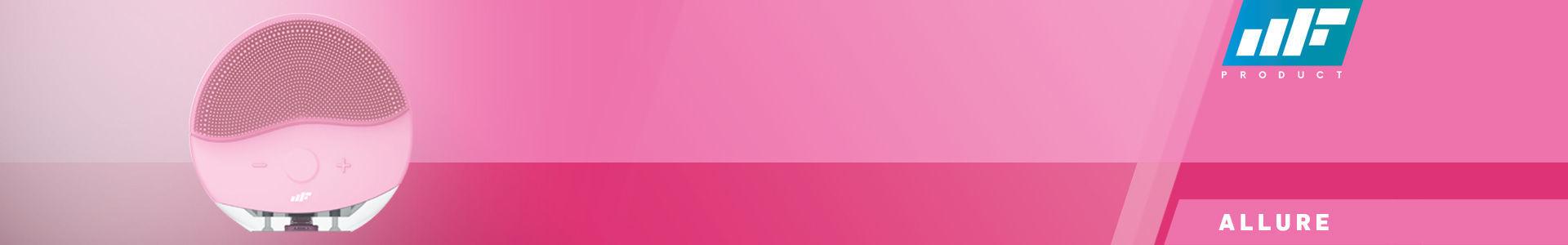 MF Product Allure 0518 Yüz Temizleme ve Masaj Cihazı Pembe için en iyi fiyatı buldun!