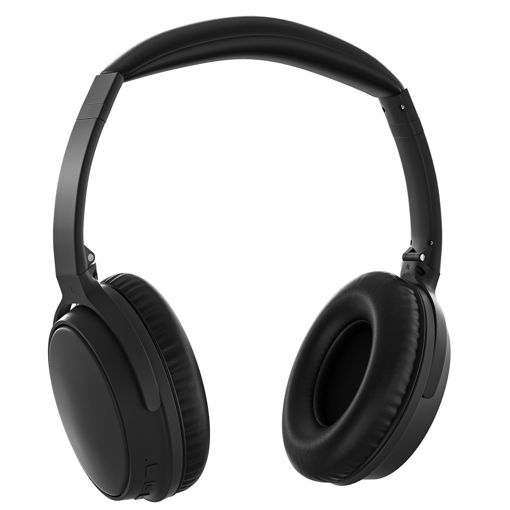 MF Product Acoustic 0476 Kulak Üstü Kablosuz Bluetooth ANC Kulaklık Siyah resmi