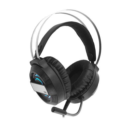 MF Product Strike 0601 RGB Kablolu Kulak Üstü Oyuncu Kulaklığı 7.1 USB Siyah resmi