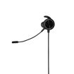 MF Product Strike 0642 Mikrofonlu Kablolu Kulak İçi Oyuncu Kulaklığı Siyah resmi