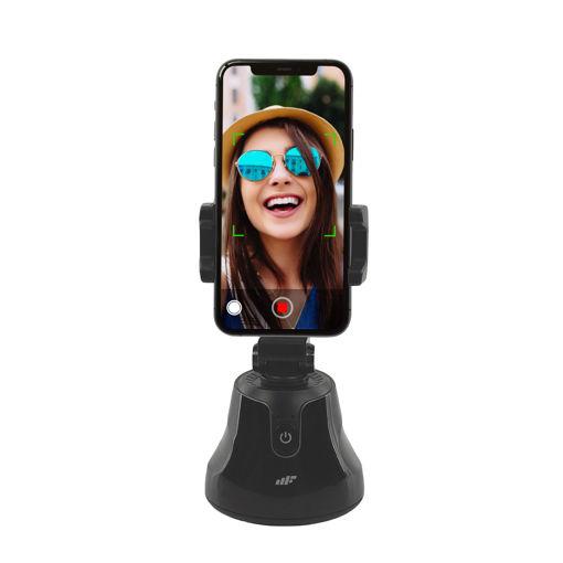 MF Product Fit N Joy 0547 360 Derece Yüz Takip Telefon Tutucu Smart Gimbal Siyah resmi