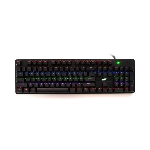 MF Product Strike 0565 Kablolu RGB Gaming Gerçek Mekanik Klavye resmi