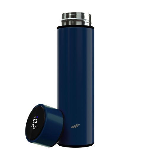 MF Product Fit N Joy 0545 Led Göstergeli Smart Termos Lacivert resmi