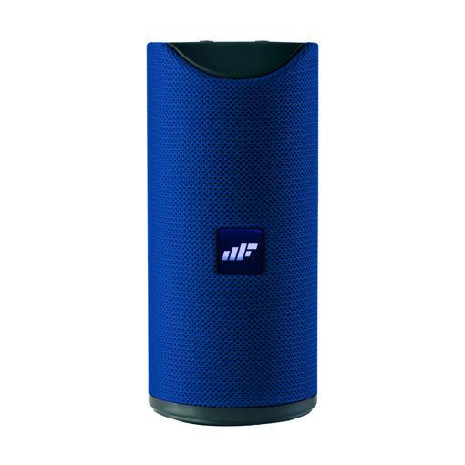 MF Product Acoustic 0123 Taşınabilir Kablosuz Bluetooth Hoparlör Mavi resmi