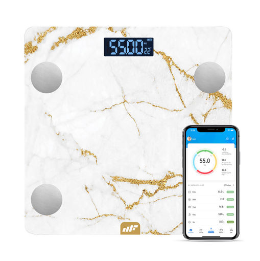 MF Product Allure 0532 Vücut Analizli Akıllı Tartı Rozalya resmi