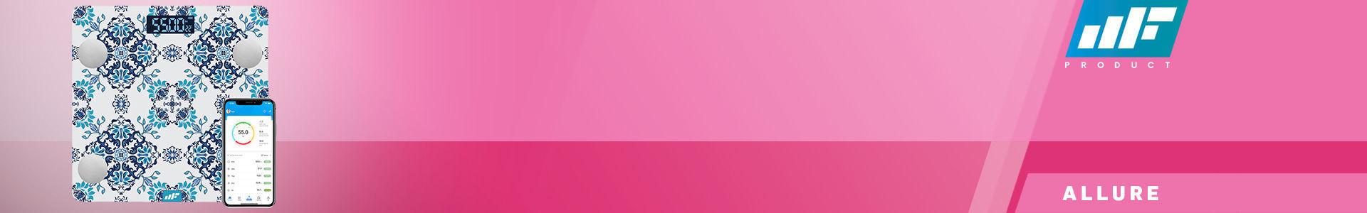 MF Product Allure 0532 Vücut Analizli Akıllı Tartı Çırağan en iyi fiyata stokta!