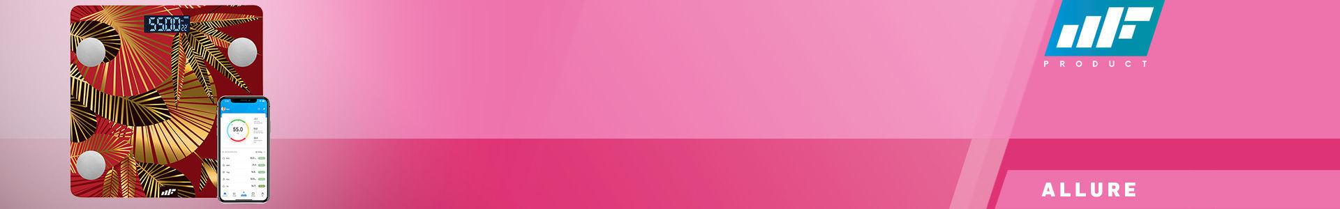 MF Product Allure 0532 Vücut Analizli Akıllı Tartı Günbatımı en iyi fiyata stokta!